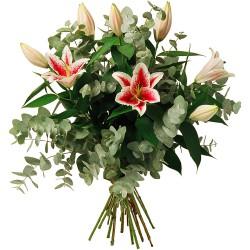 LYON FUNÉRAL FLOWERS - HARMONIE DE LYS