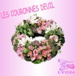 COURONNE DEUIL LYON
