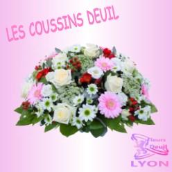 COUSSINS DE FLEURS DEUIL LYON