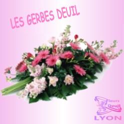 GERBE DEUIL LYON