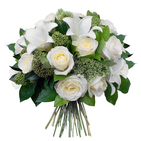 bouquet fleurs deuil LYON