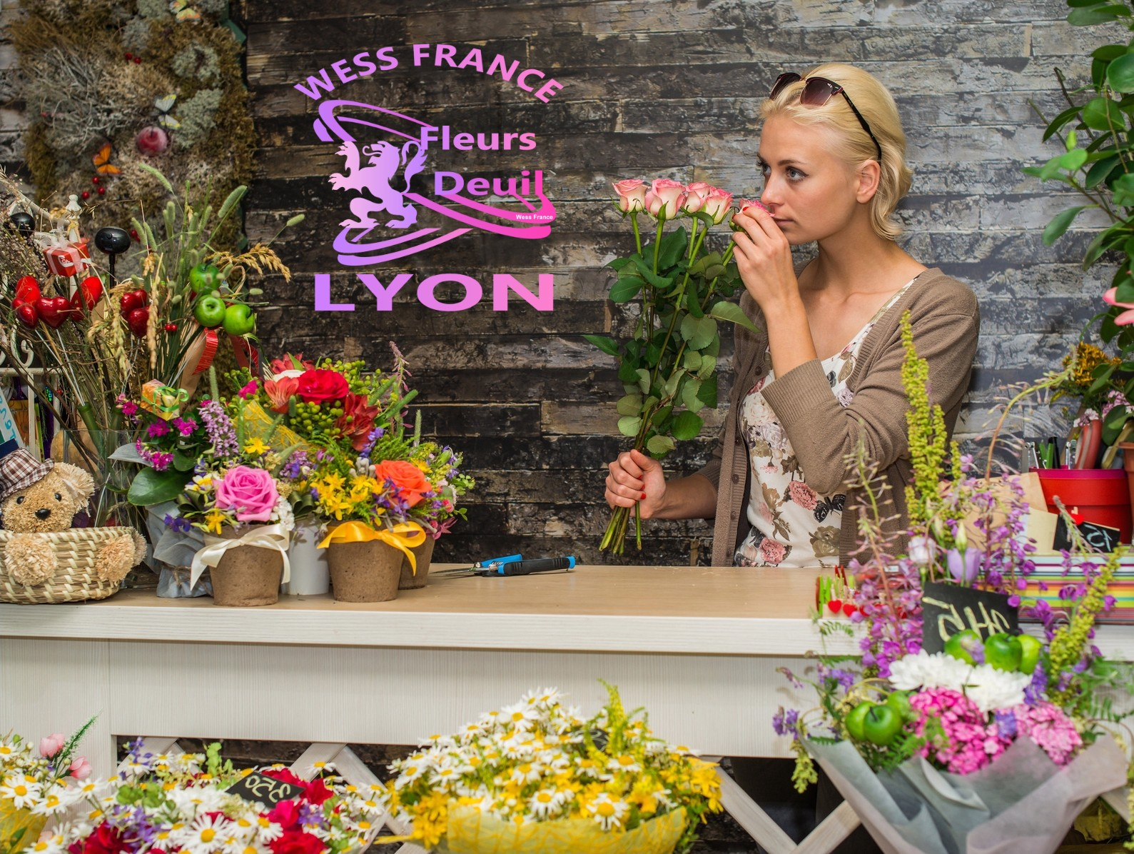 SYMPATHY FLOWERS DELIVERY IN AUBIÈRE